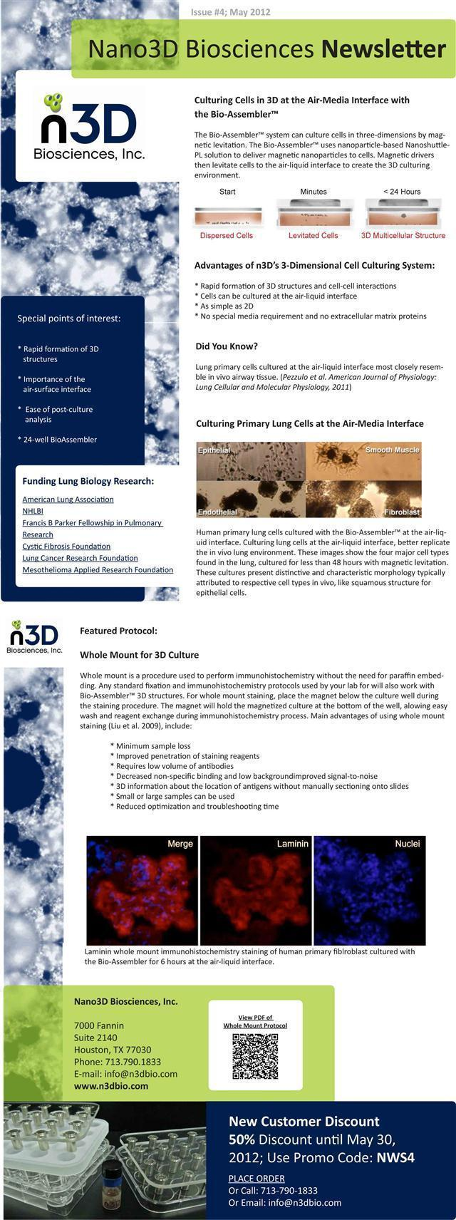 N3D May Newsletter
