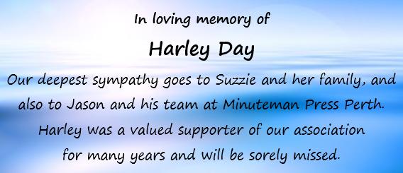 RIP Harley Day