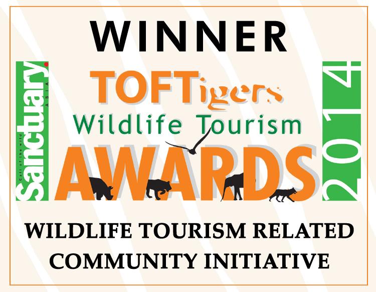 TOFTigers-Sanctuary Award for TCF