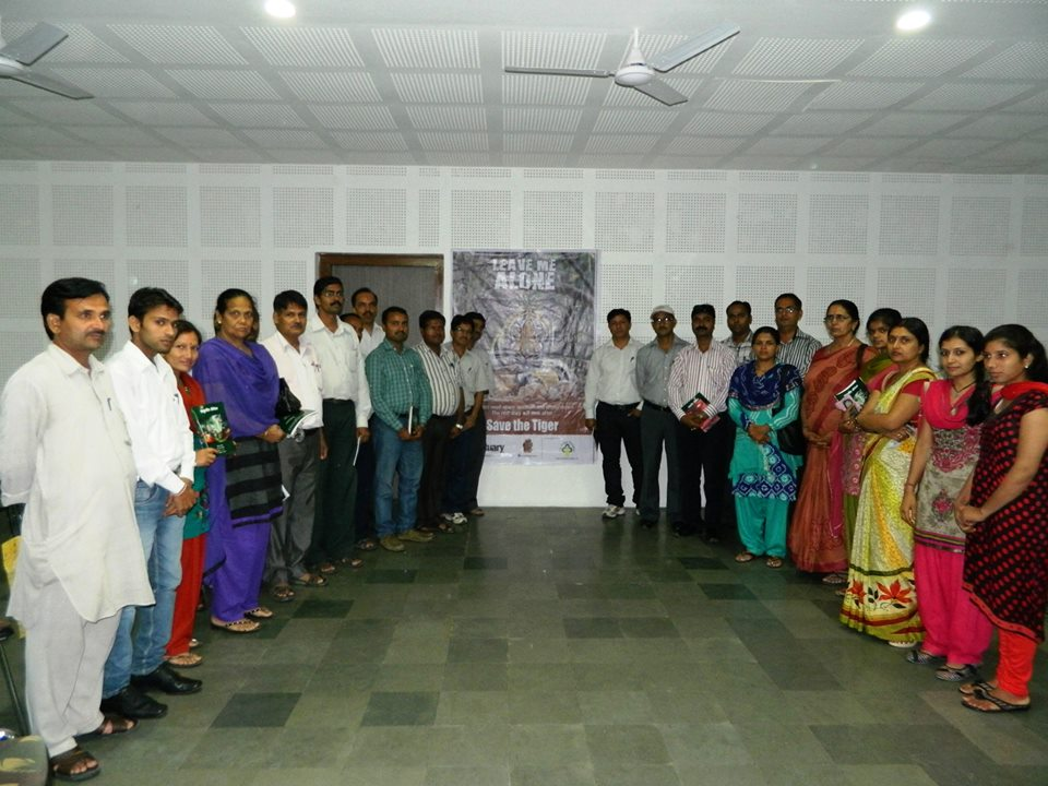 Teachers workshop on tiger conservation
