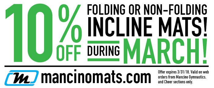 10% off Inclines for March