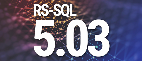 O'Neil Releases RS-SQL Version 5.03