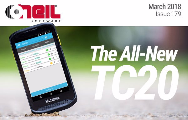 Discover the All-New Zebra TC20 Handheld