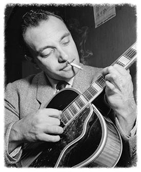 Django Reinhardt - Creator of  Jazz Manouche