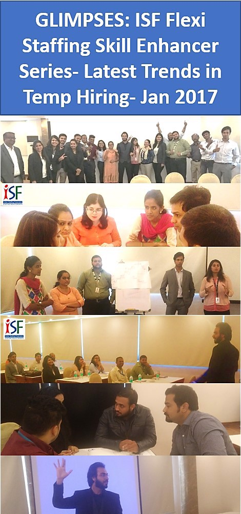 ISF training session-Latest Trends in Temp Hiring