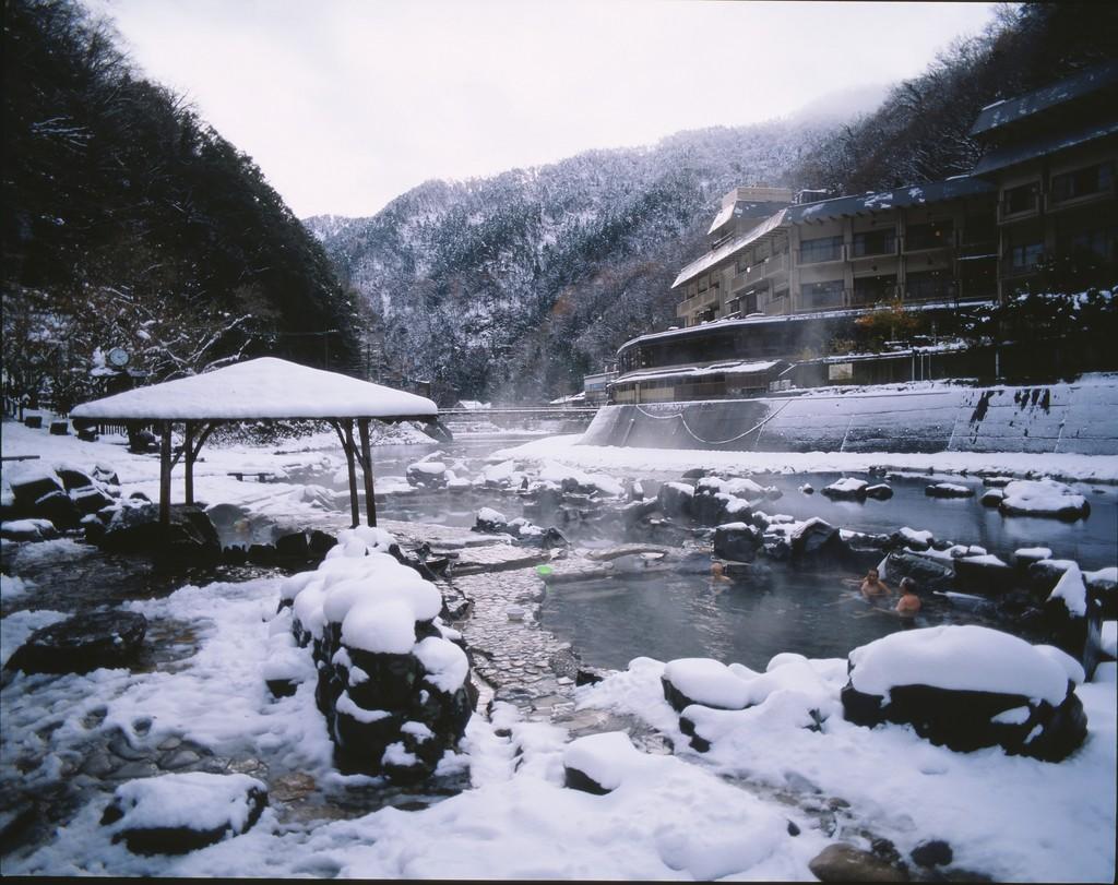 Yubara Onsen in Okayama