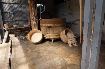 Sake Brewery Innards