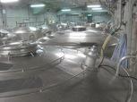The fermentation room at Hakutsuru