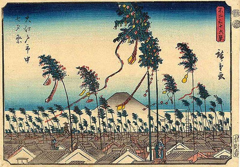 Tanabata by Hiroshige