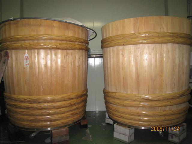 Wooden Brewing Tanks
