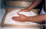 Making koji by hand