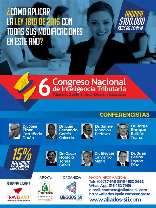 6° Congreso de tributaria