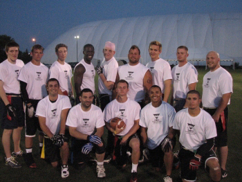 Adult men's flag football Waterford Oakland County