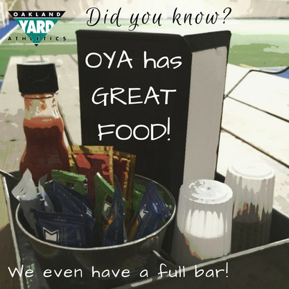 Great food at OYA