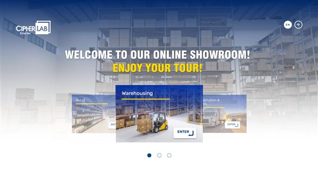 Visit CipherLab Online Showroom!
