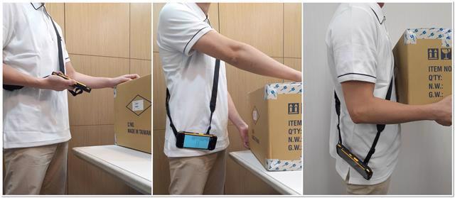 Convenience Rocks - Shoulder Strap Makes It Work