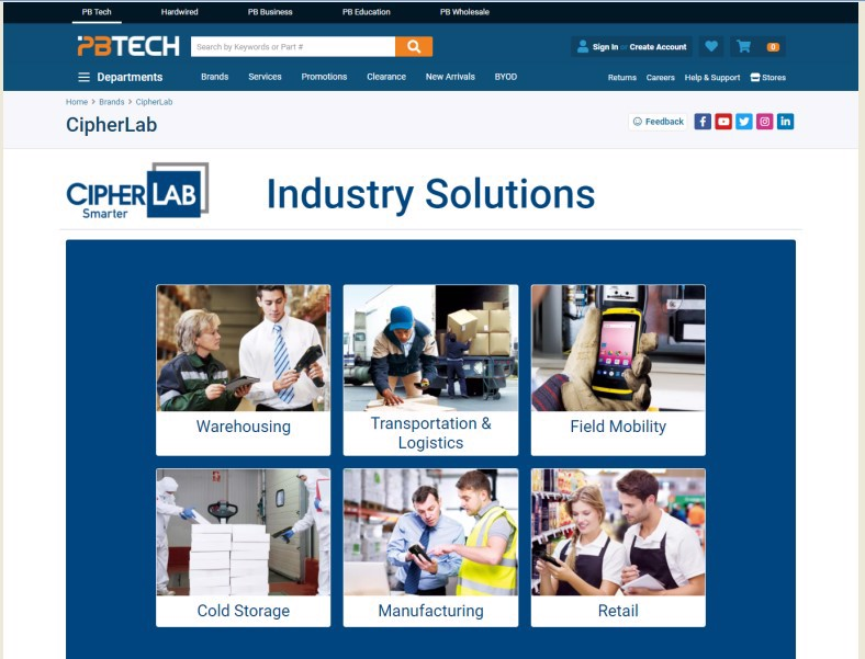 Find us on New Zealand's Largest Computing and IT Retailer Webpage