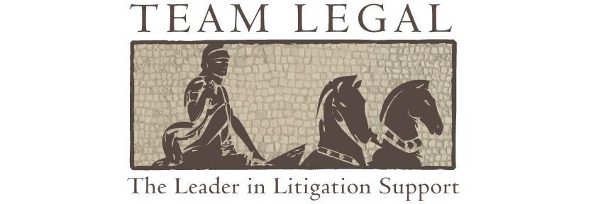 Team Legal.  The Leader in Litigation Support