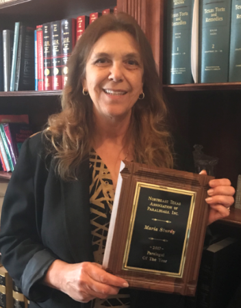 2017 NTAP Paralegal Association Paralegal of the Year