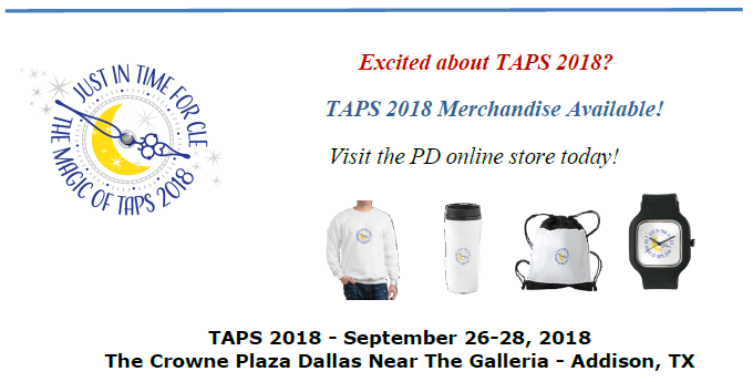 Order Your TAPS Merchandise Here