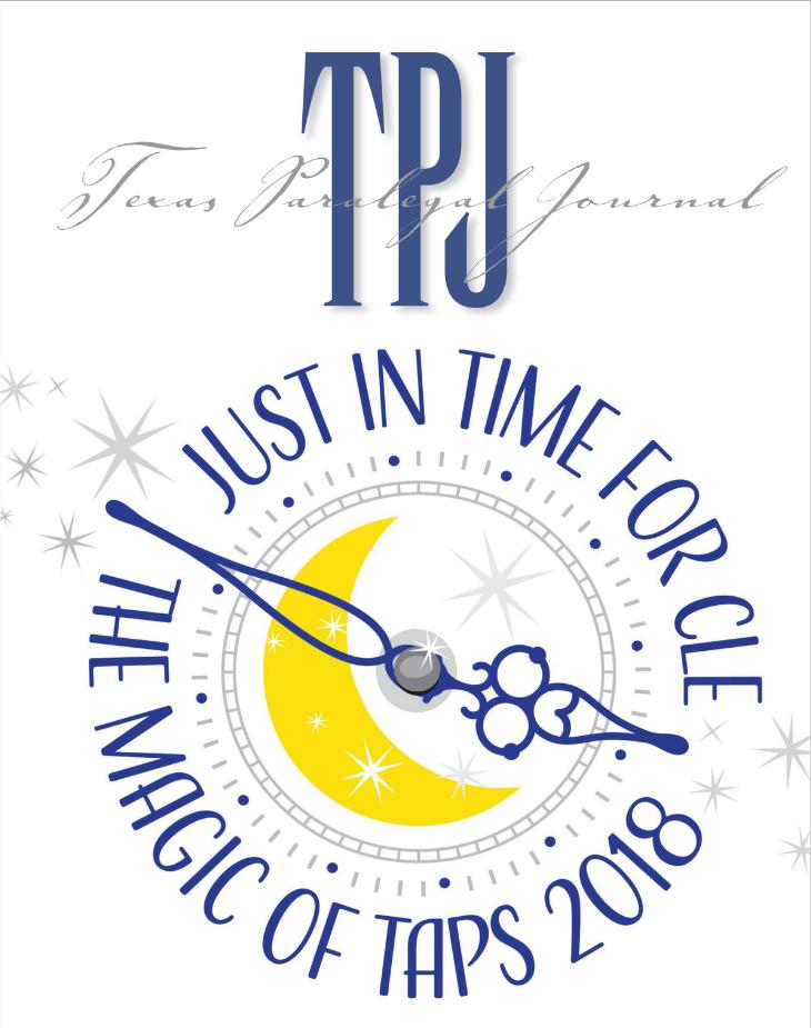 Summer 2018 Texas Paralegal Journal