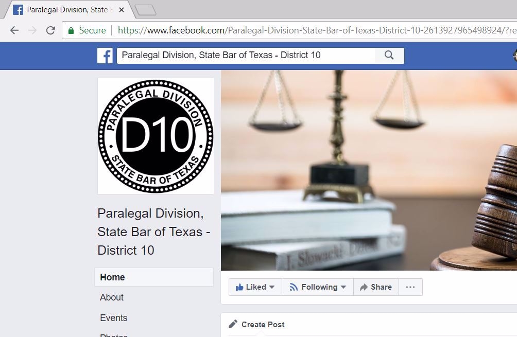 District Pages on Facebook