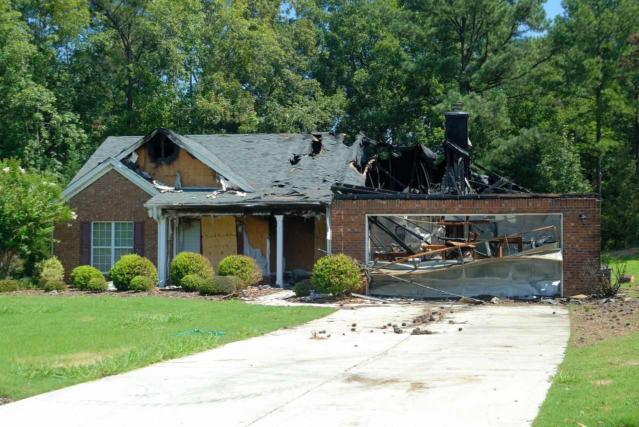 House insurance against fire