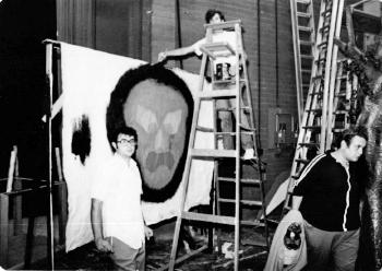 Set construction for The Wizard of Oz (1973-1974 season)