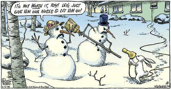 Snowman Rabbit