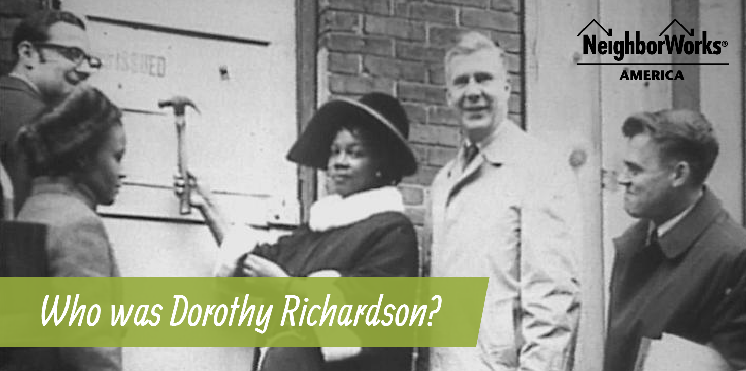 Black and white photograph of Dorothy Richardson