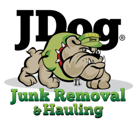 logo for JDog junk removal