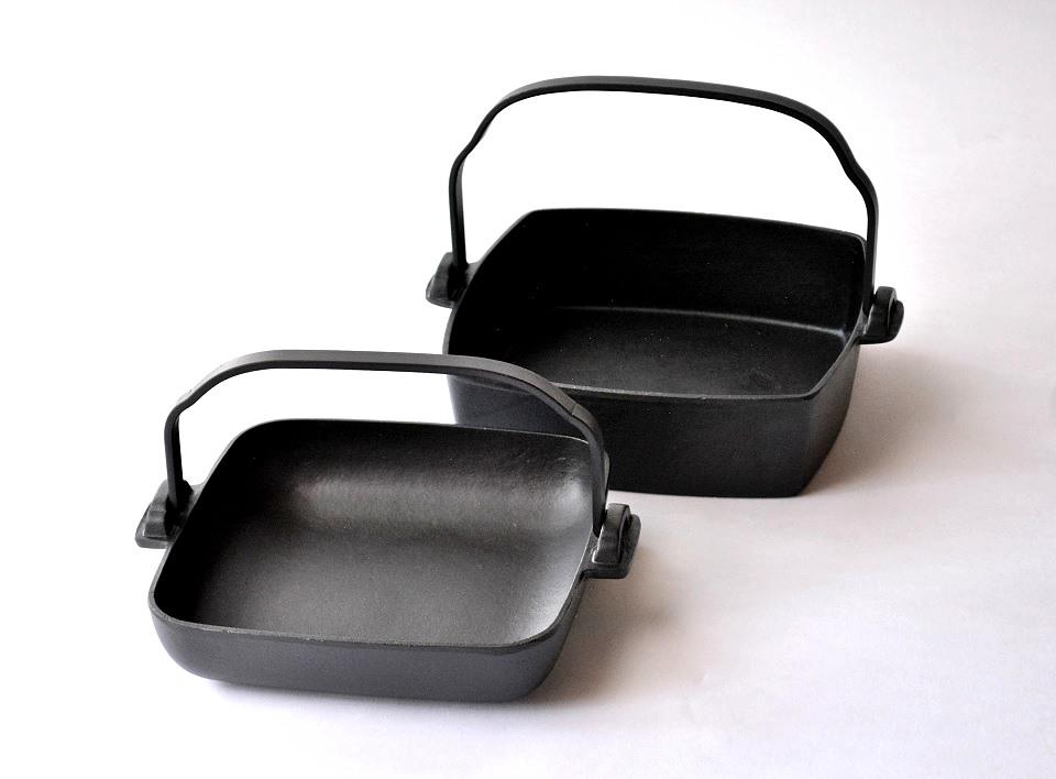角鍋(すき焼き鍋・鉄鍋)<鈴木盛久工房>