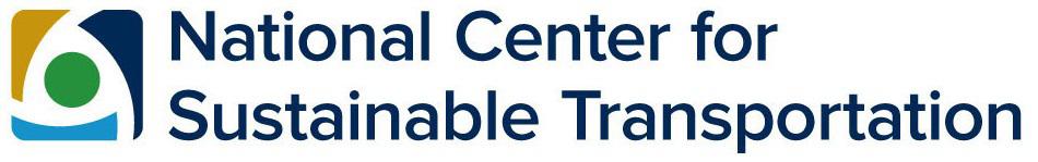 National Center for Sustainable Transportation logo