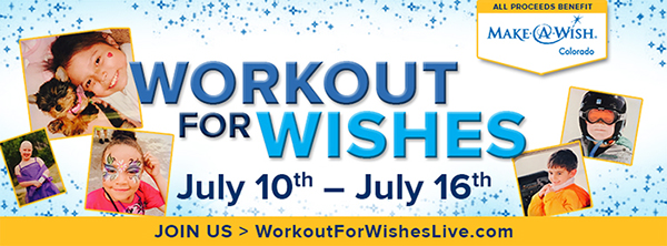 workout for wishes fundraiser