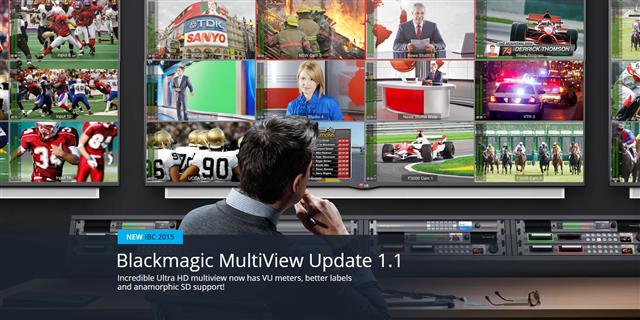 Blackmagic Multiview Update