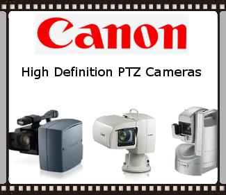 Canon PTZ Cameras