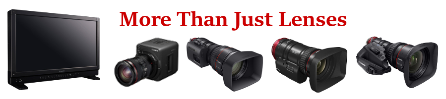 Canon More Than Just Lenses