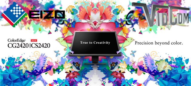 Eizo Monitors True to Creativity