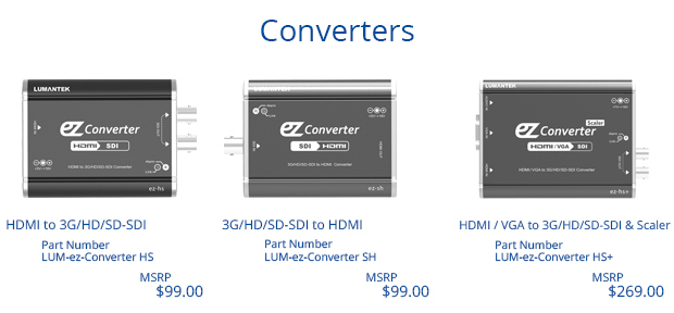 Lumantek Converters