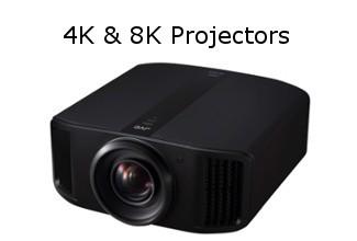 JVC 4K & 8K Projectors