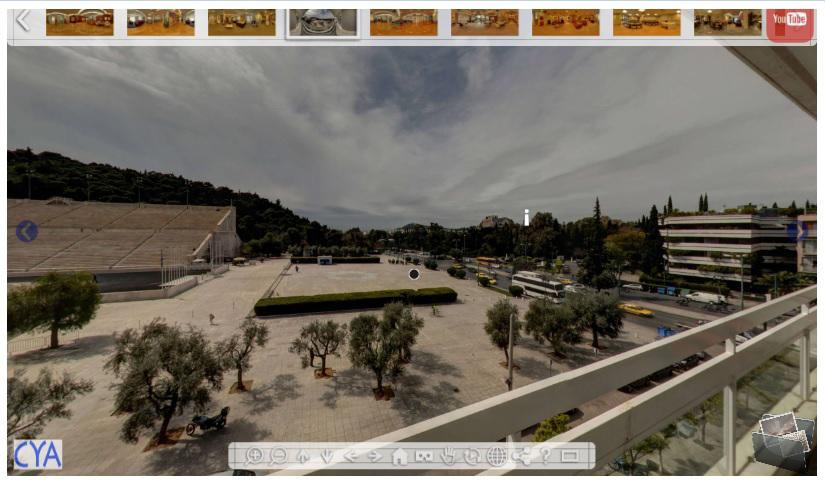 CYA Virtual Tour Screenshot