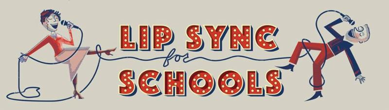 lip sync for schools logo
