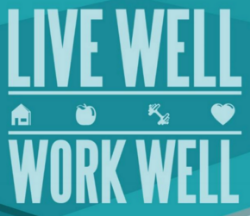 Live Well, Work Well logo