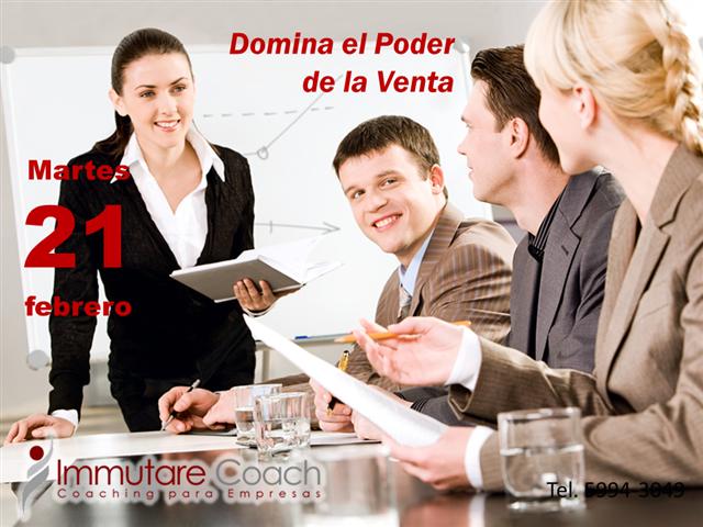 """BECA 70% Curso """"DOMINA EL PODER DE LA VENTA"""""""