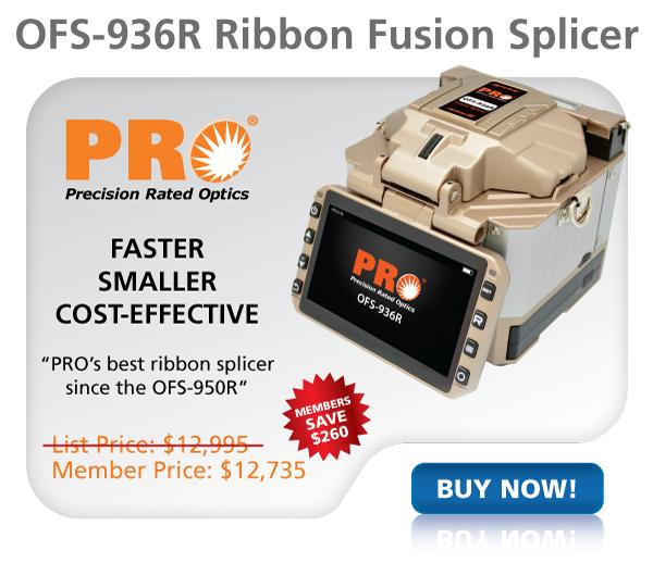 FiberOptic.com - PRO OFS-936R Ribbon Fusion Splicer