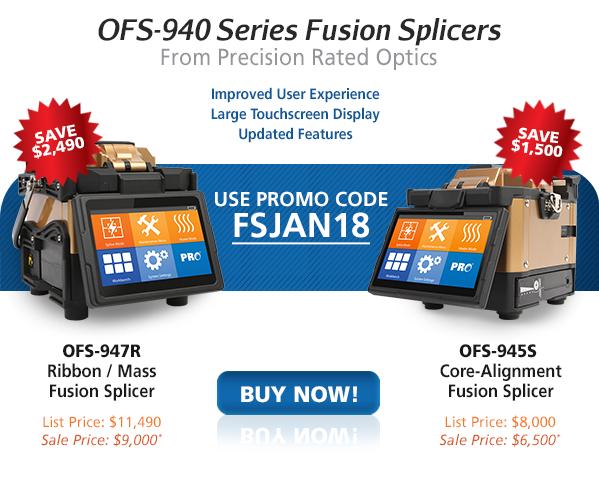 Shop Fiber Optic - New Fusion Splicers - OFS-940S Series