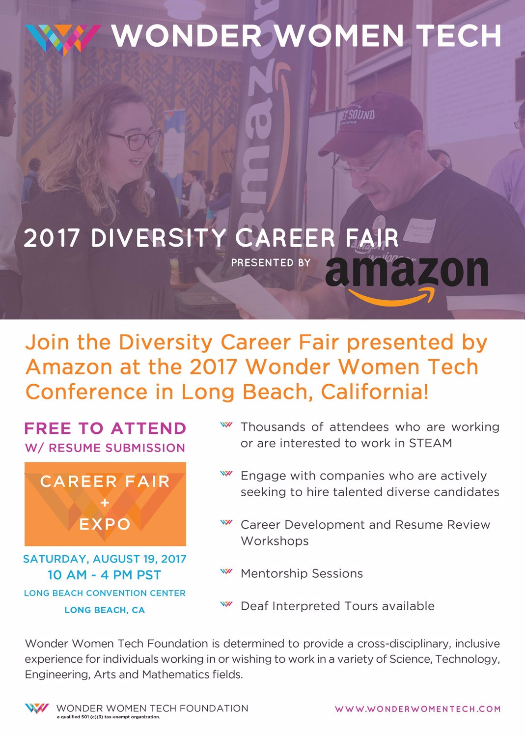Diversity Career Fair presented by Amazon