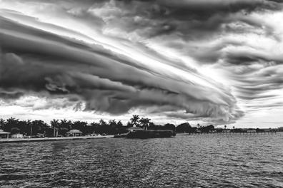 Florida Shore & Sky by Dean Perrus