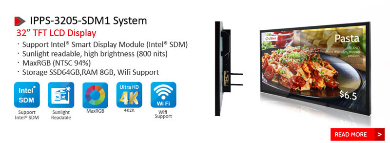 "Litemax 32"" Intel SDM Ready System"