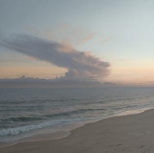 Sunset over Madeket